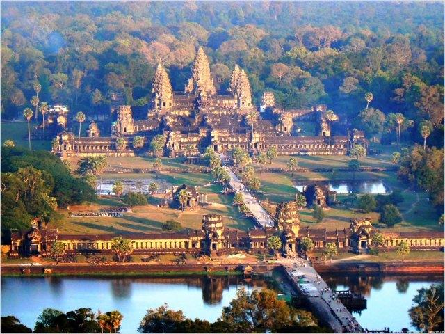 Angor Wat in Cambodia