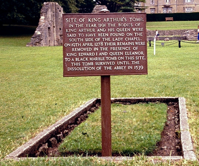 The former grave of King Arthur?