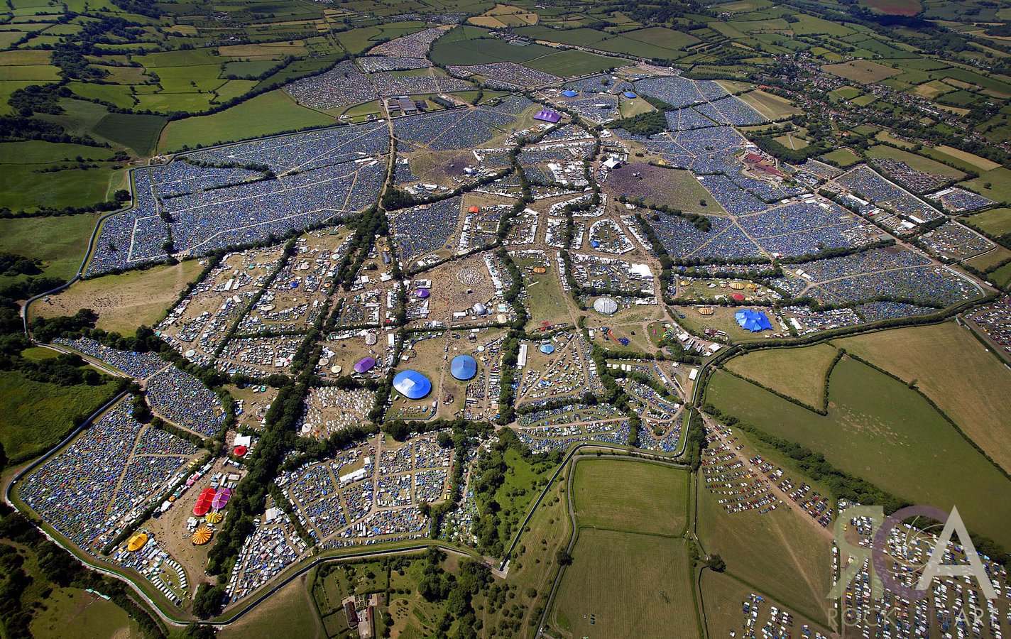 Glastonbury Then And Now Stephen Liddell