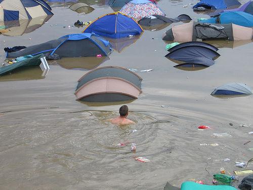Glastonbury Flood