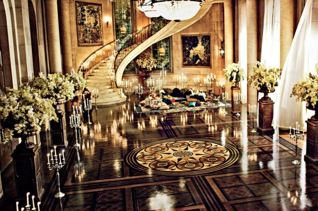 Mansion reception room