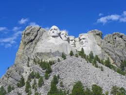 Mount Rushmore in South Daktoa