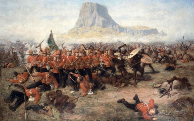 Battle of Isandlwana Painting