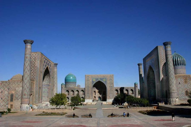 The Registan in Samarqand