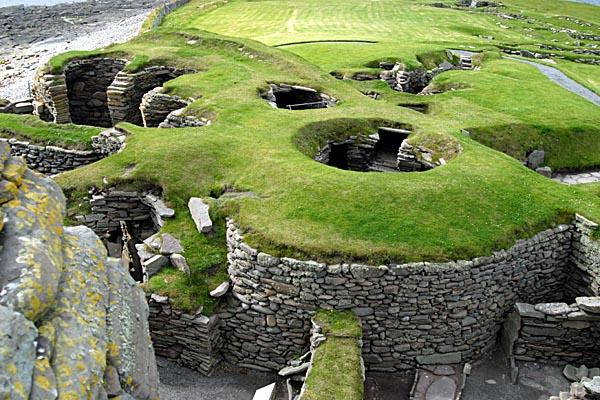 Shetland houses 2000BC