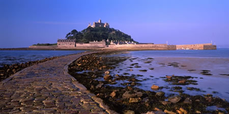 St Michaels Mount Low Tide