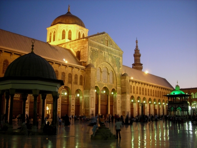 Umayyad Mosque in Damascus