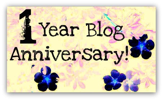 1 year blog anniversary