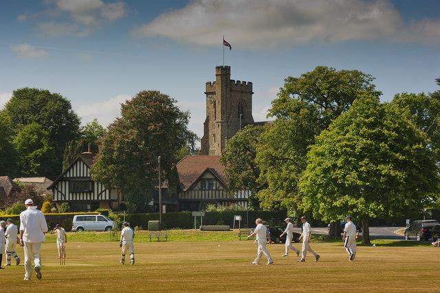 Village Cricket Green