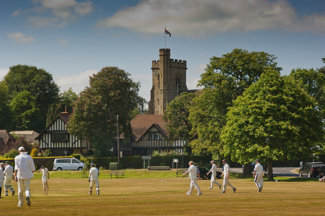 Village Cricket Green