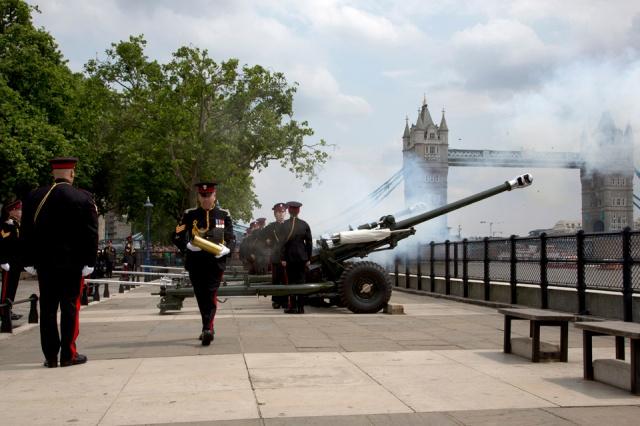 Gun Wharf Royal Salute