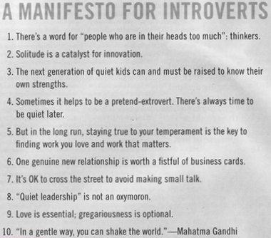 Introvert Manifesto