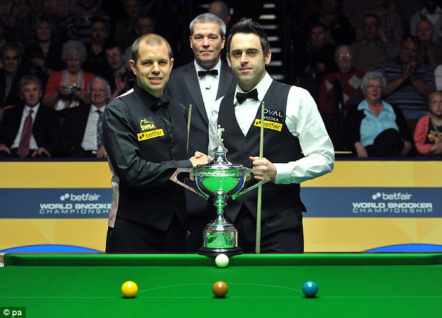 In Snooker, every game doesn't just begin and end with a handshake but the spirit goes right through the match