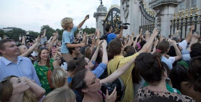 Crowds at The Gates