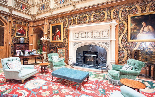 Inside Highclere