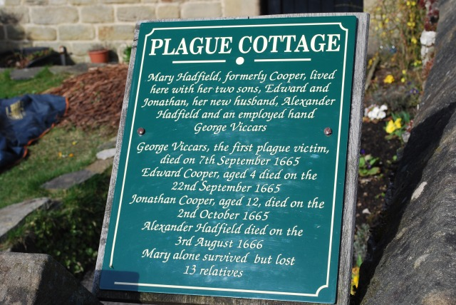 Eyam Plague Plaque
