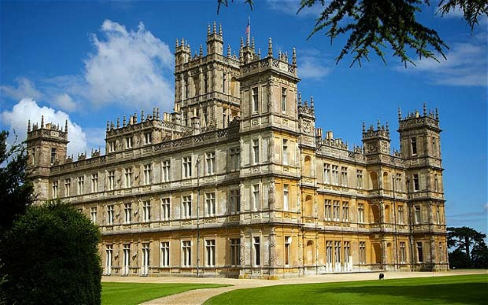 The secrets of the real downton abbey stephen liddell - Chateau downton abbey ...