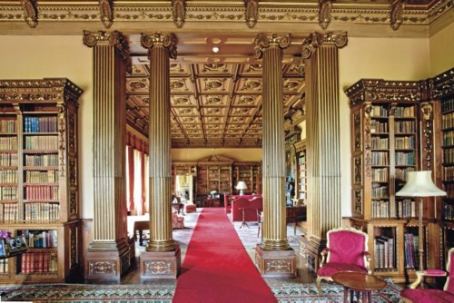 Highclere Library
