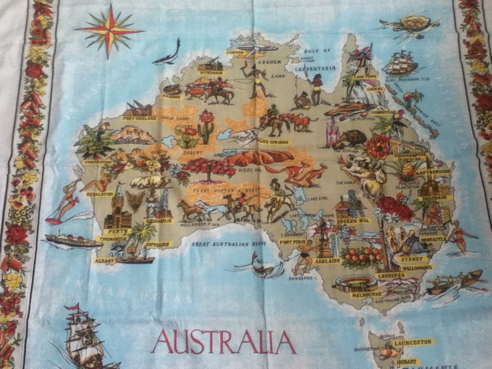 Australia Table Cloth