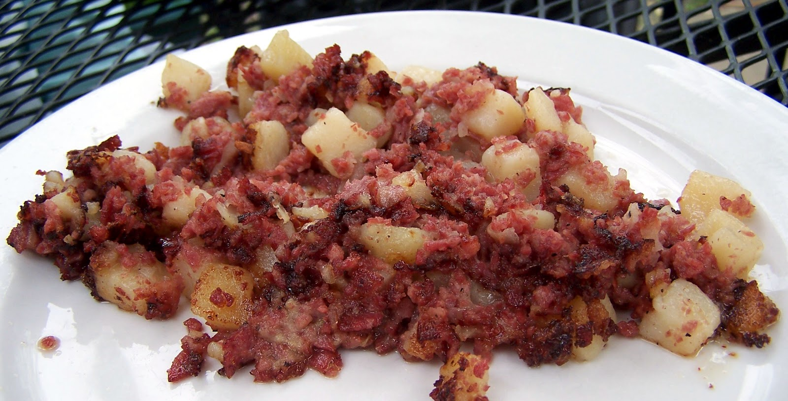 Totally delicious Corned Beef Hash.