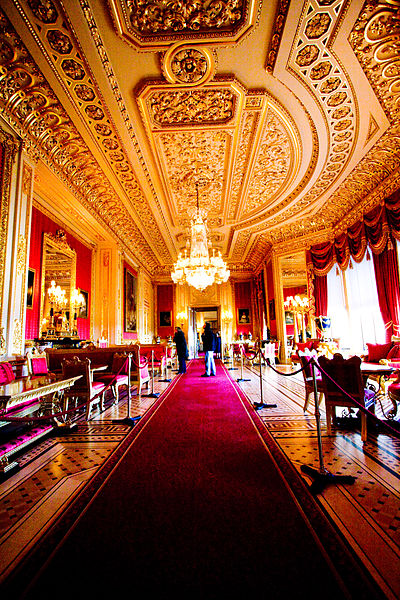 Crimson Drawing Room