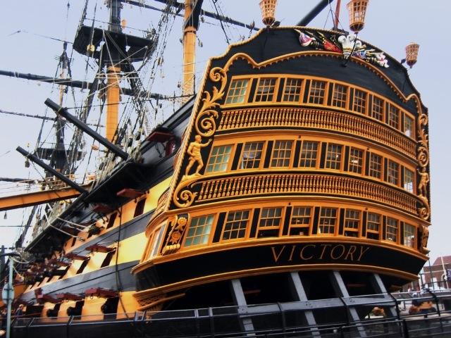 HMS_Victory-stern_view