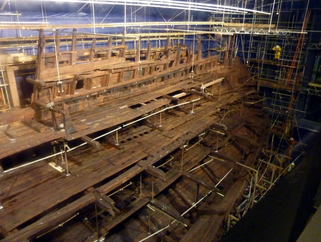 Mary-Rose in new museum