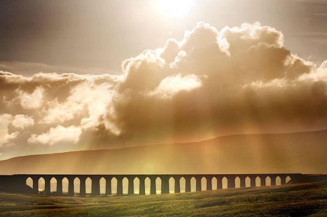 Ribblehead Viaduct on Carlisle-Settle line
