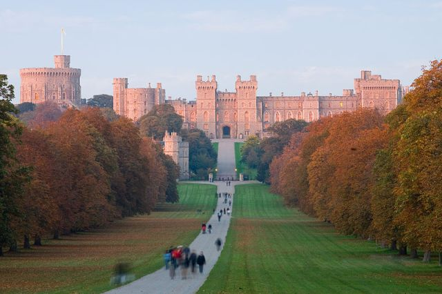 Windsor Castle at Sunset