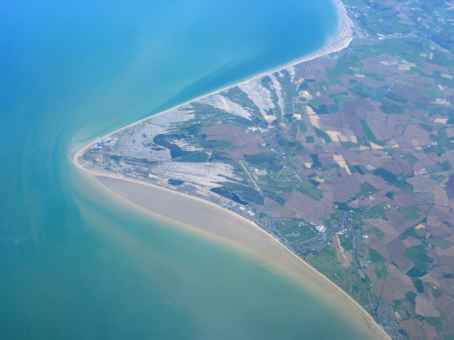 Dungeness from the skies