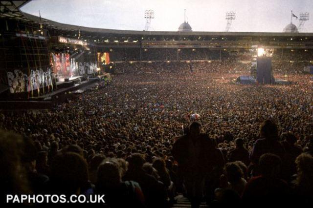Wembley Stadium Nelson Mandela