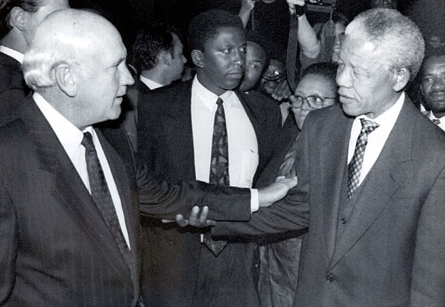 Mandela and FW de Klerk