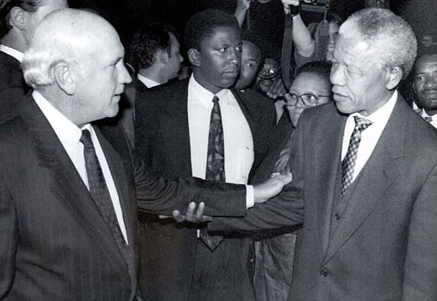 Mandela and FW de Klerk