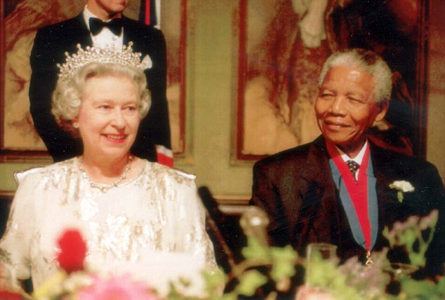 The Queen and President Mandela
