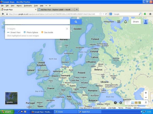 Streetview Europe