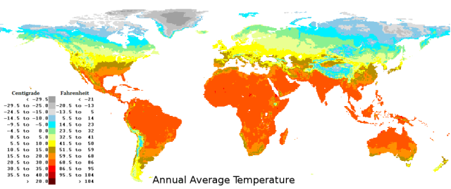 World Temperature Map on Getting Lost In The World Of Maps Stephen Liddell