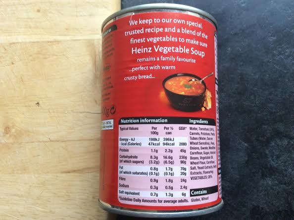 Heinz Sugar Soup