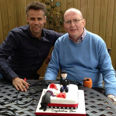 Richard Bacon & Steve Evans