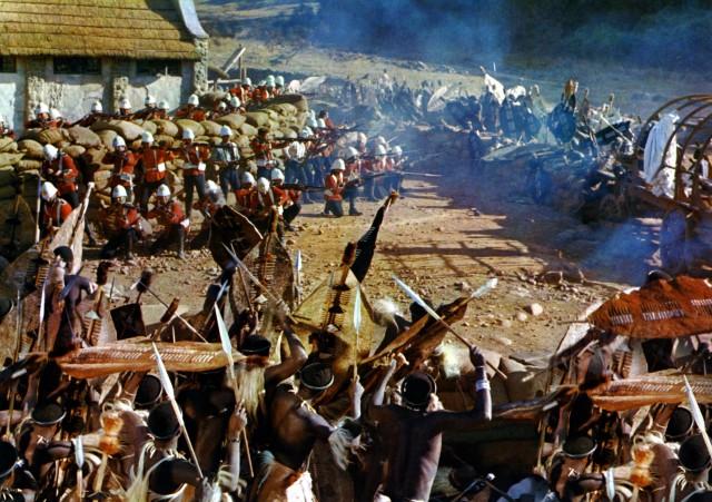 Zulu Battle Scene