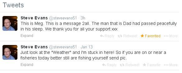 Steve Evans RIP