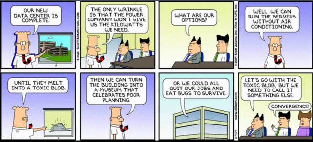 Dilbert and Convergence