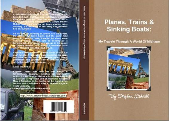 Planes, Trains and Sinking Boat PB Cover
