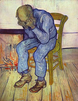 Sorrowing Old Man Vincent Willem van Gogh