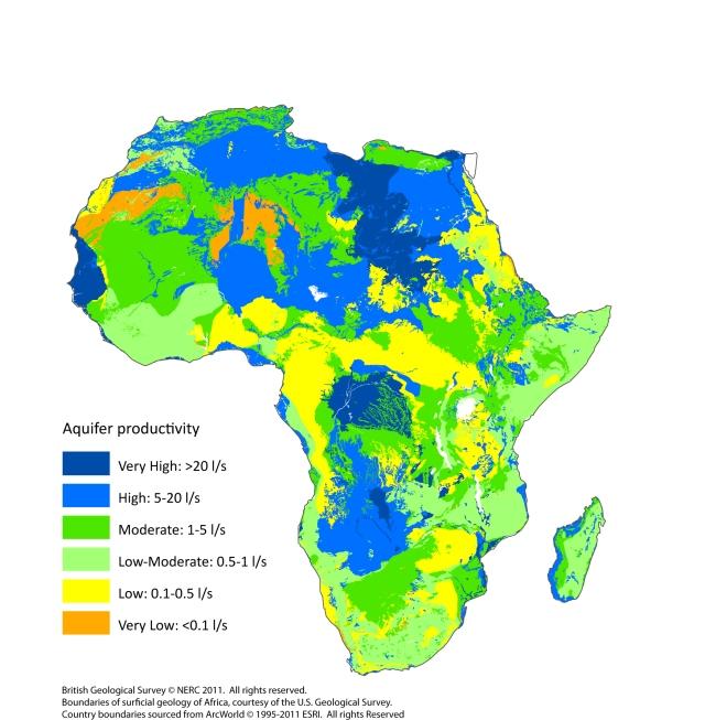 Africa Aquifers