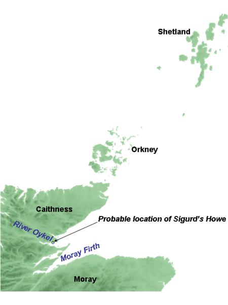 Sigurd Eysteinsson's Map