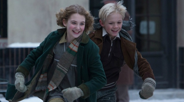 Liesel and Rudy find fun despite the war.
