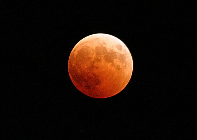 A Blood Moon