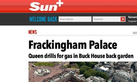 Frackingham Palace