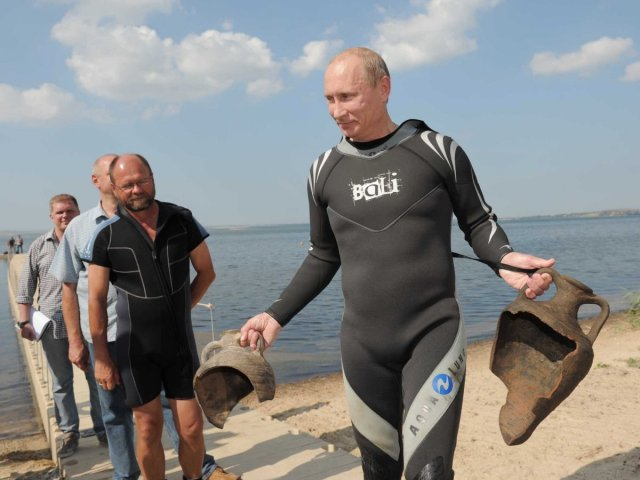 Putin Archaeologist