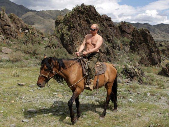 Topless Putin